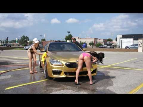V Live Memphis 1st Annual Bikini Car Wash Beamer Getting Washed Part 1