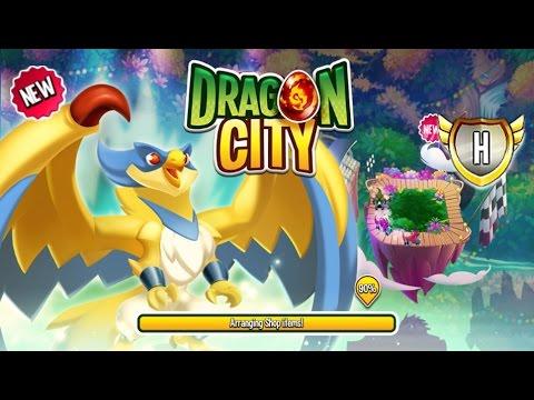 Dragon City - High Spirits Dragon [It's Time for Racing, Racer - I Love this Dragon]