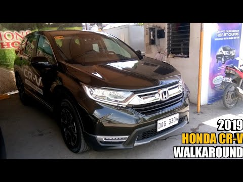 2019 Honda CR-V S Diesel 9AT Interior & Exterior - Walkaround / Review Philippines