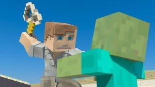 The Walking Dead Minecraft Animation