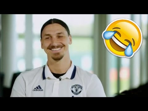 "Zlatan Ibrahimovic Funny Interview ""Lions don't compare themselves with humans"""