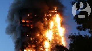 Huge blaze engulfs west London tower block