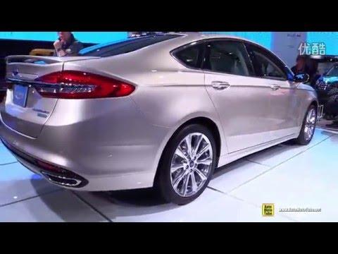 Новый Ford Mondeo 2017 Platinum