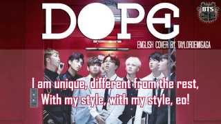 [English Cover] BTS (방탄소년단) - DOPE (쩔어) by JANNY