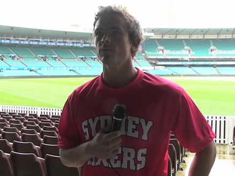 Stephen O'Keefe signs with the Sydney Sixers