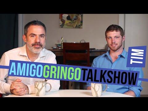 Seth entrevista Tim Cunningham  Amigo Gringo Talk