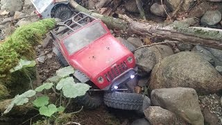 RC Rock Crawling Crashes & Rollovers