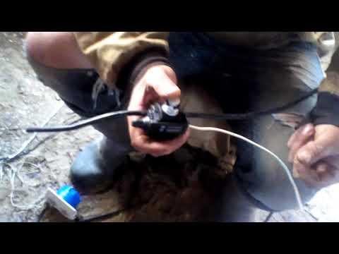 Как соединить сип.провод прокалывающим зажимом