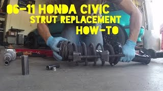06-11 Civic Strut Replacement Install 8th Gen
