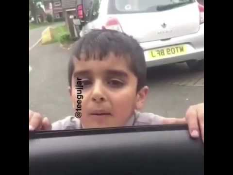 Funny kid saying he is fasting(roza)