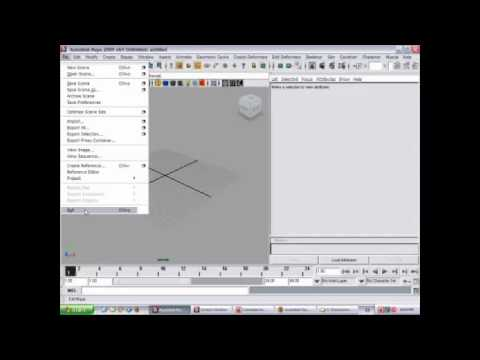 best 3d modeling software maya tutorial for beginners