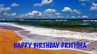 Pritisha like Priteesha   Beaches Playas - Happy Birthday