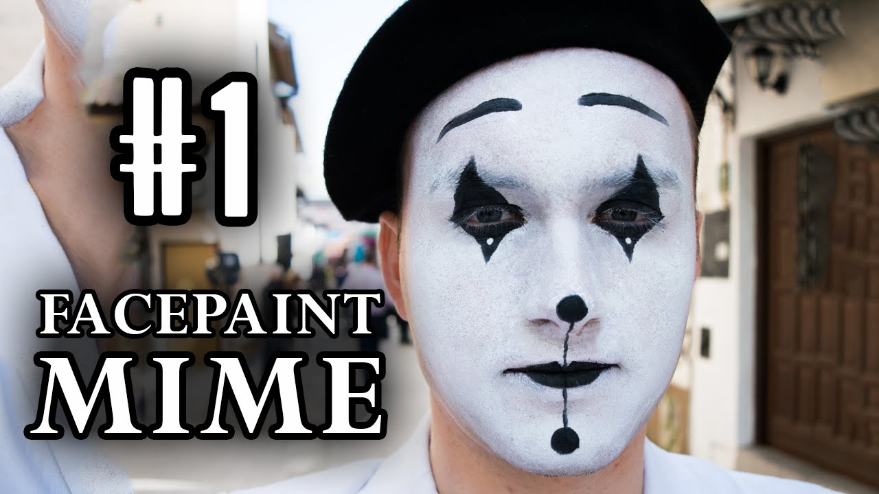 French Mime Drawing