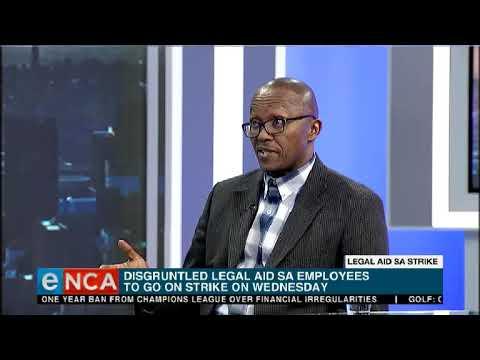 Legal Aid SA Strike