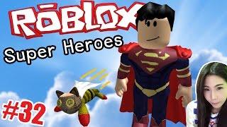 Roblox #32 - ผมอยากเป็นฮีโร่ เราได้เป็นตัวอะไรเนี่ย Super Heroes Tycoon ( DevilMeiji )