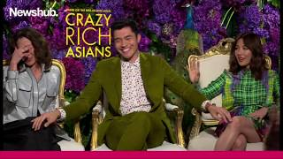 Constance Wu, Michelle Yeoh and Henry Golding talk Crazy Rich Asians | Newshub