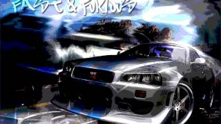 TECHNO REMIX vs NISSAN SKYLINE ( HD )