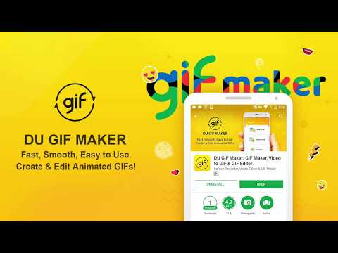 DU GIF Maker: The Best Gif Maker & Video To GIF & GIF Editor App. App Review!