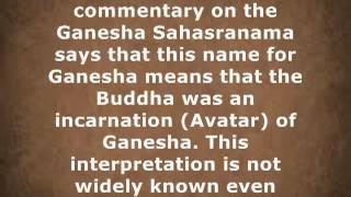Ganesh buddha statue