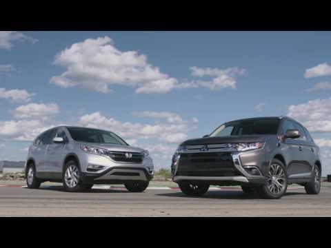 Face à Face entre le Honda CR-V et le Mitsubishi Outlander