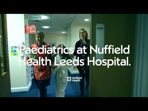 Children's Services (Paediatrics) in Leeds | Nuffield Health