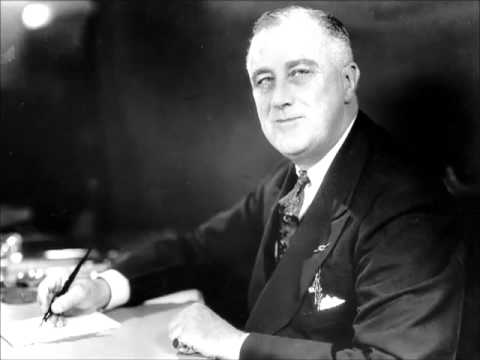 Franklin Roosevelt - Fireside Chat #1, On the Banking Crisis (1933)