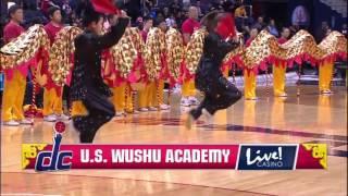 2015 USWA Dragon and Wushu Team Performed at NBA on February 24,
