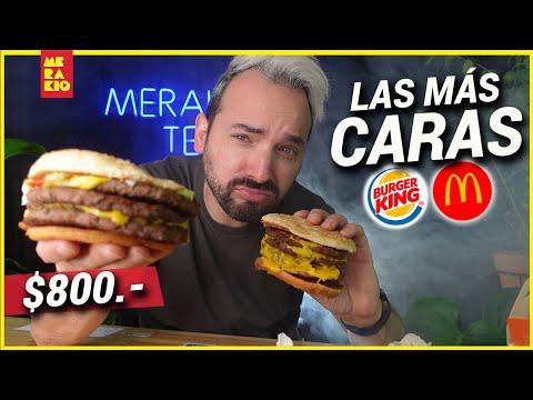 LAS HAMBURGUESAS MAS CARAS DE MC DONALDS Y BURGUER KING - Una Mera guerra de Deliverys EP 01