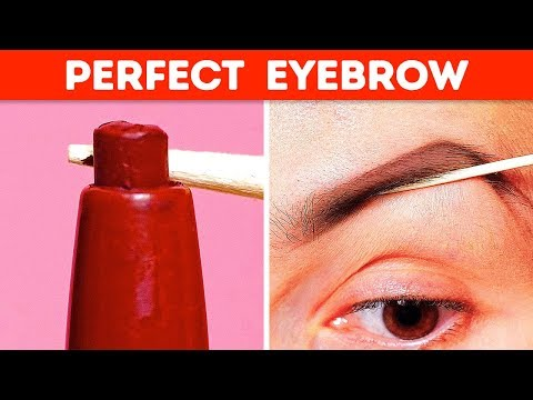 39 CREATIVE MAKEUP HACKS TO LOOK FABULOUS