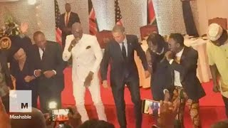 President Obama hits the dance floor during Kenya visit | Mashable