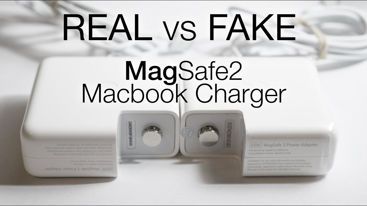 Real Vs Fake Magsafe 2 Charger Macbook Pro