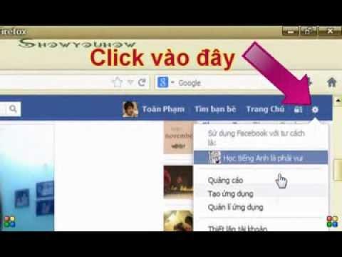 Tạm thời biến mất khỏi facebook bằng cách khóa tài khoản