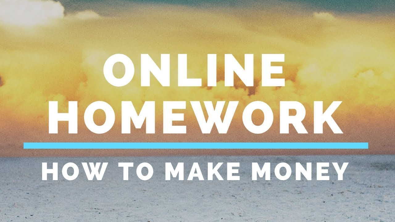 homework help earn money