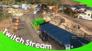 Twitch Livestream: American Truck Simulator Multiplayer 06/28/2018