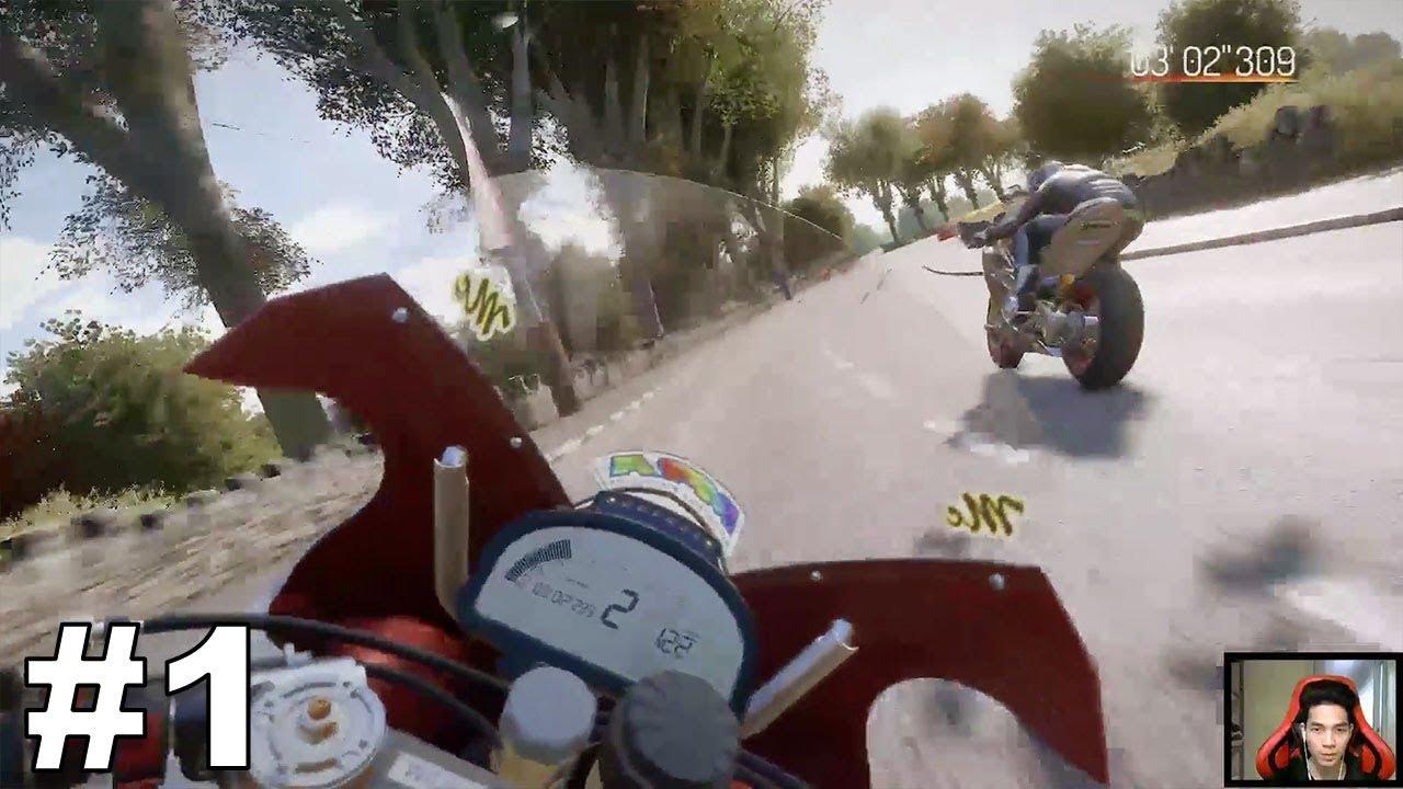 TT Isle of Man #1: Game đua xe mô tô 3d đồ họa đẹp chân thực nhất