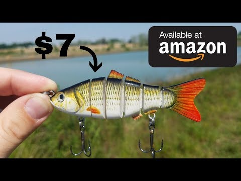 CHEAP Amazon Swimbait Fishing Challenge (Does It Work?)