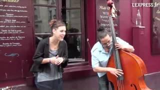 Zaz à Montmartre Les passants Music