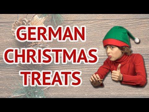 German Kids Eat Famous Christmas Sweets