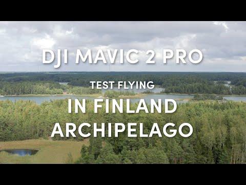 DJI Mavic 2 Pro Test Flying In Finland Archipelago