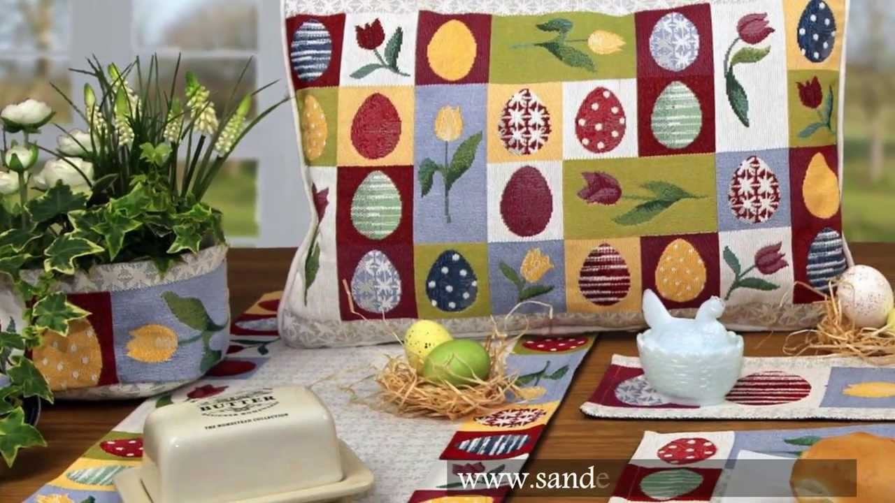 Sander Table and Home - Easter Holidays Gobelin Ostern