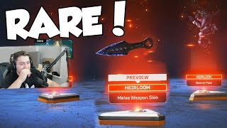 How To Unlock The HEIRLOOM KNIFE! (RAREST ITEM in Apex Legends)