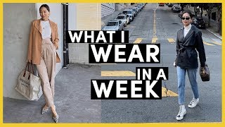 What I Wear In A Week, My Daily Outfits | Song of Style | Aimee Song