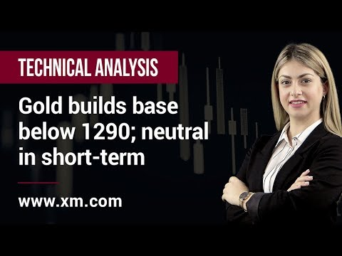 Technical Analysis: 13/05/2019 - Gold builds base below 1290; neutral in short-term