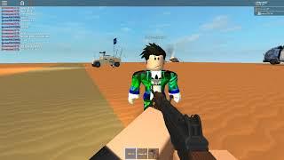 Gun fighting in Eyl, Somalia (ROBLOX)