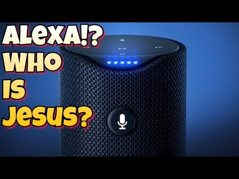 WTF! Amazon's Alexa says Jesus Christ is Fictional!! & Muhammad Wasn't