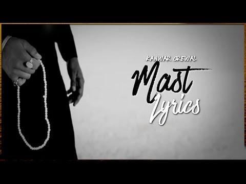 Mast | Lyrics | Kanwar Grewal | Top Punjabi Sufi Song | 6K Subscribers | Syco TM