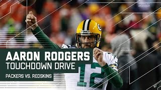 Aaron Rodgers Responds With Spectacular TD Drive! | Packers vs. Redskins | NFL