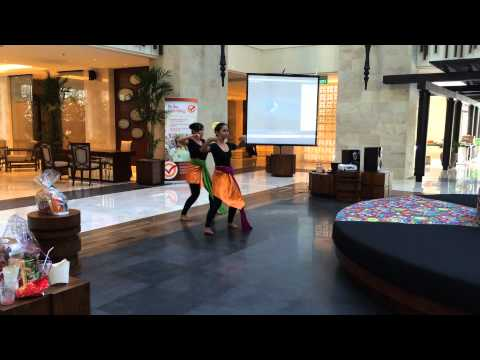 Bali Modern Contemporary Dance - Town Hall Meeting IHG (Holiday inn Resort Bali Benoa)