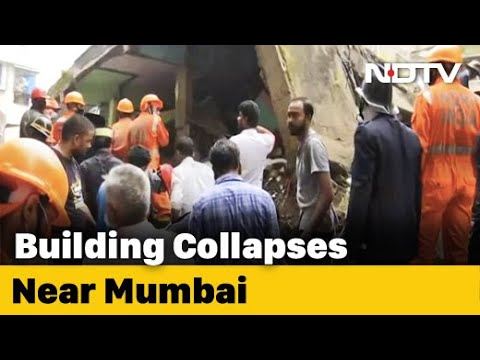 8 Dead After Building Collapses In Bhiwandi Near Mumbai