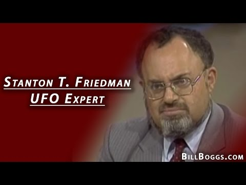 Stanton T. Friedman - UFO Expert - Interview with Bill Boggs